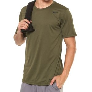 Nike Dry Mens Legend 2.0 Training Tee Olive Canvas